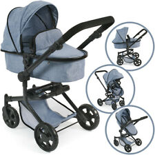 Bayer Chic 2000 Puppenwagen Mika 2in1 (Jeans Blue)