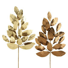 "Raz Imports Large 28"" Magnolia Leaf Spray~Set of 2~Ritzy Floral/Swag/Tree/Wreath"