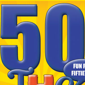 The 50th Birthday Card Game - A New 50th Birthday Gift Idea for Men or for Women