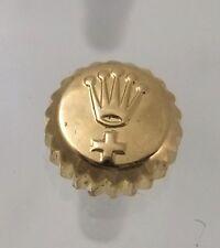 Vintage 18k Yellow Gold Rolex Datejust Brevet + Watch Crown 6mm Parts