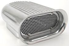 Aluminum Hood Scoop Hilborn Style  single quad carburator air filter  finned nos