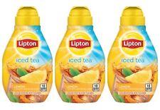 3 Pack Lipton Liquid Ice Black Tea LEMON Mix 2.43 New & Hard to Find