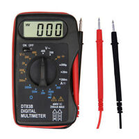Portable Mini LCD Digital Multimeter Pocket Ammeter Voltmeter Ohm Meter Volt TB