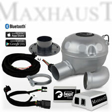 Maxhaust Soundbooster SET mit App-Steuerung - Active Sound für Audi A6 bis A8