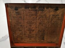 Vintage Dorman Products Automobile Car Gas Oil Engine Tin Metal Gaskets Box Sign