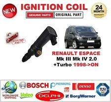 FOR RENAULT ESPACE Mk III Mk IV 2.0 +Turbo 1998-ON IGNITION COIL 2-PIN CONNECTOR