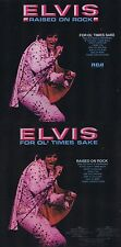 """Elvis PRESLEY """"raised On Rock/for ol 'Times Sake"""" 1973! con 10 canzoni! NUOVO CD!"""