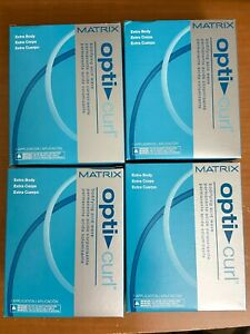 4-Matrix Opti Curl Extra Body Bodifying Acid Wave Perm Kit NEW!Buy 4 get 5