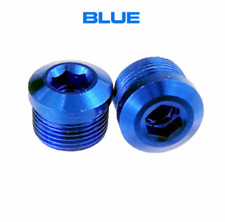 1Pair Alloy Bicycle pedals End Caps/nut For Wellgo/Xpedo/Exustar Bike pedals