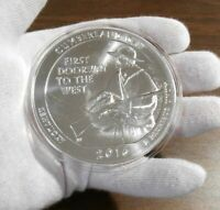 2016 ATB Cumberland Gap National Park uncirculated 5 troy oz, .999 pure