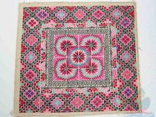 40x36cm Chinese Ethinic Yi Women's cross-stitch Hand Embroidery piece