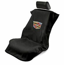 Black Cadillac (New LOGO)  Seat Armour Seat Cover/Seat Towel