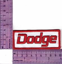 Chrysler Dodge  Logo Embroidered Badge / Cloth Patch  Iron or Sew on