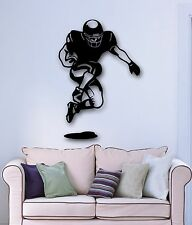 Wall Stickers Vinyl Decal American Football Player for Sports Fans (ig936)