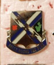 CREST DI, 115TH INFANTRY REGIMENT, CLUTCH BACK, S-38 HALL MARK