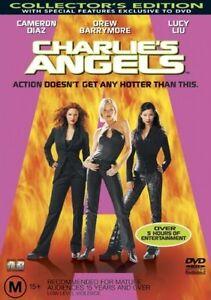 Charlie's Angels (DVD, 2001) Charlies Angel's - REGION 4 AUSTRALIA - FREE POST