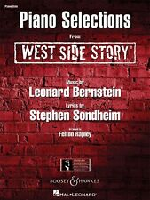 West Side Story Sheet Music Piano Solo Selections NEW 000450061
