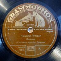 """N. Ramescu - Kuckucks-Walzer - Grossmutters Walzerlied - /10"""" 78 RPM"""