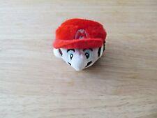 "Mario Bros. Mario (face) Plush 2"" Inches Keychain (NEW)"