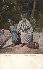 Postcard Arab on the Corner Tangier Morocco Africa