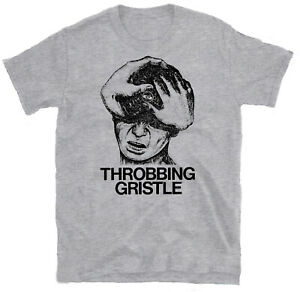 THROBBNG GRISTLE 'Head' T-shirt, Psychic TV, Coil, Nurse With Wound, Current 93
