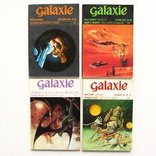 Lot de 4 livres GALAXIE n°124-125-126-127 - 1974 Science Fiction - Fantastique