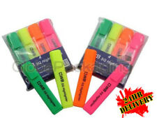 400 x QUALITY HIGHLIGHTER PENS ASSORTED COLOURS NEW - 24HR DEL