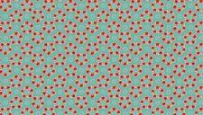 Makower Katie Jane Garland Turquoise 100% cotton Fabric Patchwork Quilting