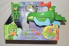 New PJ Masks Gekko Mobile Green Car Gecko Disney Junior Super Hero
