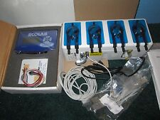 ECOLAB ADVANCED LAUNDRY CONTROL SYSTEM WITH 4 PUMPS NEW!