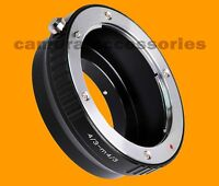 Panasonic 4/3 Lens to Micro Four Thirds m4/3 camera mount adapter Repl. DMW-MA1