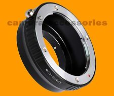 Panasonic 4/3 Lens to Micro Four Thirds m4/3 camera mount adapter Repl. DMW-MA1
