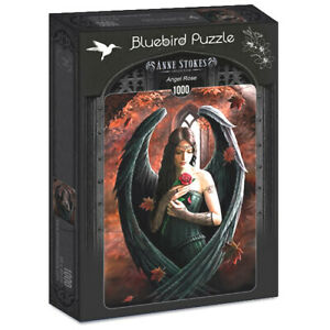 Anne Stokes - Angel Rose - 1000 piece jigsaw puzzle