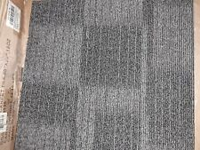 "GRAINGER 31HL76 CARPET TILES 19 11/16"" DARK GRAY COUNT OF 38"