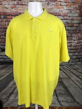 ROCAWEAR MEN'S YELLOW POLO COTTON SHIRT SIZE 2XL