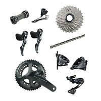 Shimano Ultegra R8020 2 x 11 Speed 50/34 Hydraulic Disc Brake Groupset Build Kit