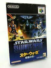 Star Wars : Shadows of the Empire - Jeu Nintendo 64 N64 JAP Japan complet