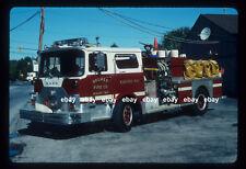 Holmes FC Ridley Twp PA 1970 Mack CF pumper  Fire Apparatus slide