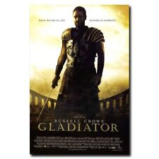 Gladiator Russell Crowe 24x36inch Classic Movie Silk Poster Large Size Hot