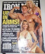 Iron Man Magazine Lee Priest Interview July 2004 111114R