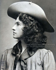 1903 Vintage 8x10 Photo * ANNIE OAKLEY * Old West Sharpshooter * New York City