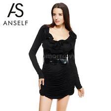 Clubwear Long Sleeve Dresses Plus Size for Women