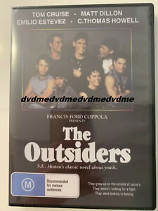 The Outsiders DVD Brand New Sealed Manufactured Australian Release