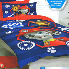 Paw Patrol - Marshall & Chase - Single/US Twin Bed Quilt Doona Duvet Cover set