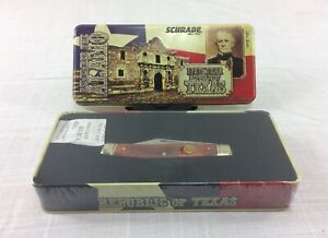 Schrade 8TX Remember The Alamo Special Edition Pocket Knife - Sealed