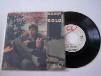 EP 4 TITRES VINYLE 45 T , BOBBY SOLO , QUELLO SBAGLIATO . VG / VG .