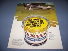 "VINTAGE.. WACO MODEL E ""ALUMIGRIP"" ..ORIGINAL SALES ADS...RARE! (749N)"