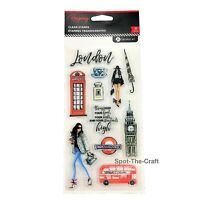Rongrong Clear Stamp Set London by Hampton Art SC0898
