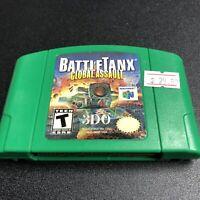BattleTanx: Global Assault Nintendo 64 N64 1999 Cart Only *