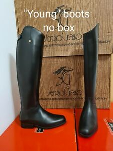 Sergio Grasso black long Riding Boots 41LM